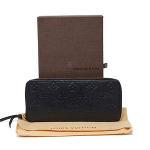 100% Auth Louis Vuitton Impreinte Zippy Wallet